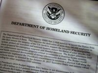 Proposals for the Homeland Security Department in President Donald Trump's first budget are displayed at the Government Printing Office in Washington, Thursday, March, 16, 2017. The $1.15 trillion presentation proposes a reordering of national spending priorities, pumping significantly more money into the military and homeland security while sharply cutting foreign …