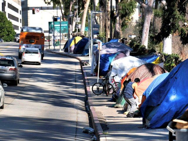 homeless encampment L.A. RICHARD VOGELAP