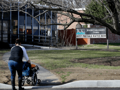 The Jewish Community Center is seen in Tarrytown, N.Y., Tuesday, Feb. 28, 2017. The latest in a wave of bomb threat hoaxes called into more than 20 Jewish community centers and schools across the country has again put administrators in the position of having to decide whether a threatening message …