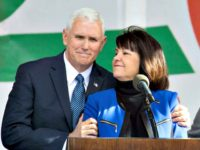 mike and karen pence-AFPGetty Images TASOS KATOPODIS