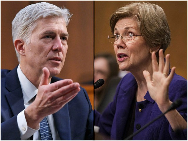 Elizabeth Warren Supports Filibuster on Gorsuch Nomination: 'Way Outside the Mainstream'