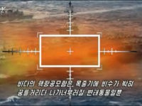 North Korean Propaganda Video Shows U.S. Aircraft Carrier on Fire