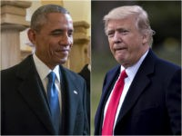 Obama and Donald Trump