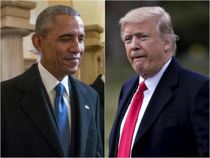 Obama and Donald Trump