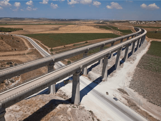 israel high speed rail