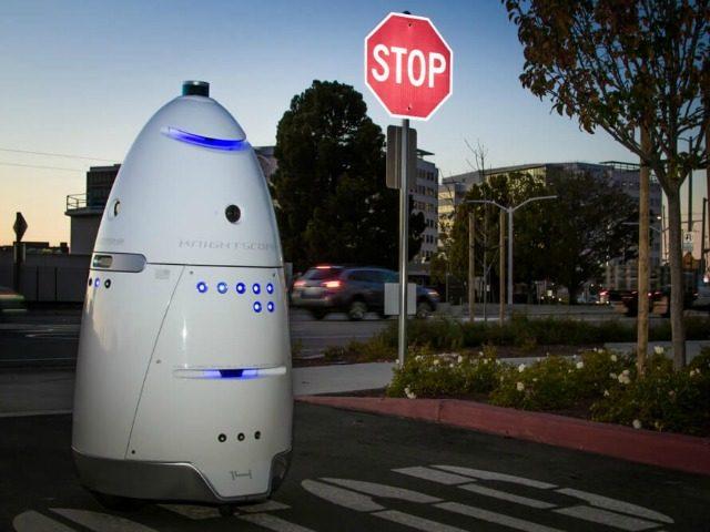 Drunk Guy Attacks Security Robot, Gets Arrested