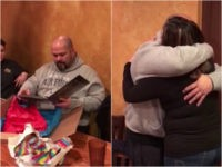 WATCH: Woman Surprises Stepfather by Asking Him to Adopt Her on His Birthday