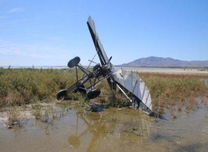 ultralight crash