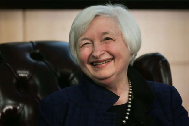 All eyes will be on Federal Reserve boss Janet Yellen's speech Friday as investors bet on a March rate hike