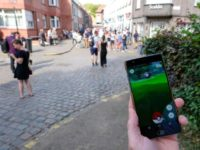People play at the Pokemon GO augmented reality game on August 20, 2016 in Lillo, a village which harbors rare Pokemon and as been flooded with Pokemon GO hunters since the mobile game launched