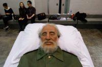 Lifelike replicas of ex-communist leaders are on display at Art Basel in Hong Kong