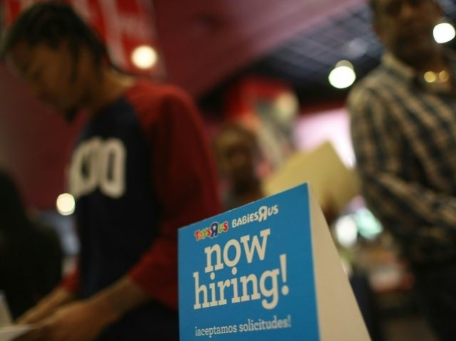 Pace of U.S.  hiring tumbles, yet jobless rate hits 10-year low