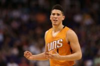 Devin Booker of the Phoenix Suns became just the sixth player in NBA history to score 70 or more points in a game and the youngest to do so