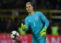 Joe Hart, pictured on March 22, 2017, has been England captain on several occasions in the past and has a chance to stake his claim for the armband in future