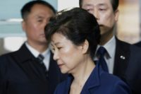 South Korea's ousted leader Park Geun-Hye arrested