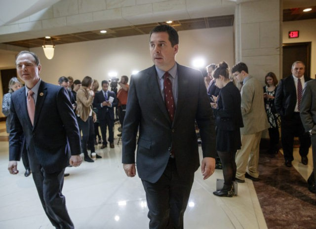 Exclusive — Devin Nunes Sending Criminal Referral to DOJ over Spygate: 'Time to Go on Offense'