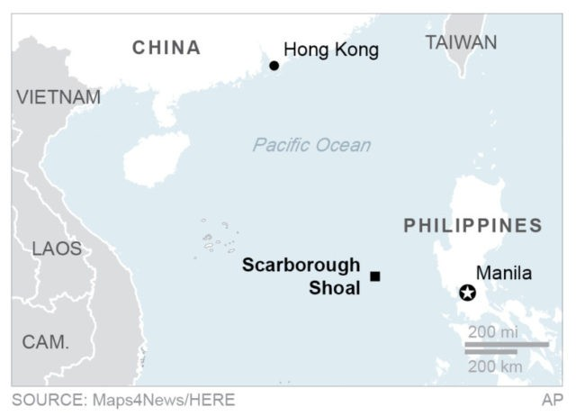 "reaction paper in scarborough shoal Manila (update) – china plans to build an ""environmental monitoring"" station in scarborough shoal in the disputed south china sea last month, a philippine minister said chinese president xi jinping had promised his philippine counterpart china would not build structures on the rocky outcrop both countries claim, but china called the comments baffling and regrettable."
