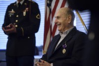 'Still one of us': 92-year-old gets Purple Heart from WWII
