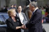 Michele Bachelet, Marcelo Rebelo de Sousa