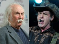 War of Words after David Crosby Calls Ted Nugent and Donald Trump a 'Pair of A**holes'