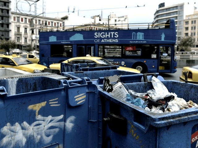 Athens Greece Rubbish