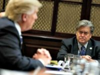 Donald Trump: Steve Bannon Tough, Smart Voice at Breitbart News, 'Fake News Needs the Competition'