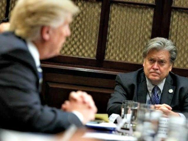 Bannon and Trump