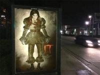 Street Artist Depicts Caitlyn Jenner as 'It' Clown in Posters Outside Fox Studio