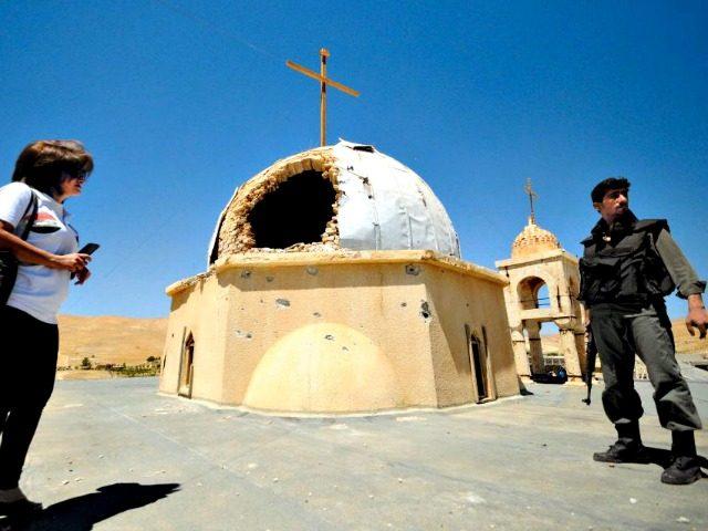 Christian Church Syria OMAR SANADIKIREUTERS