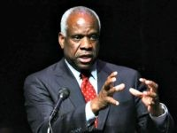 ** FILE **Associate Justice of the U.S. Supreme Court Clarence Thomas speaks at Marshall University in Huntington, W.Va., in this Sept. 10, 2007, file photo. Breaking his 16-year public silence on his bitter confirmation hearings, Thomas says Anita Hill was a mediocre employee, who was used by political opponents to …