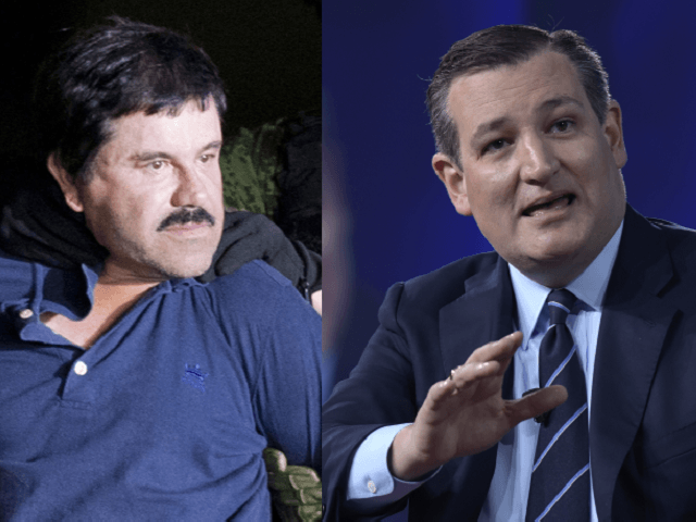 El Chapo and Ted Cruz