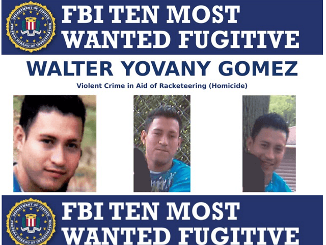 The FBI Added An Illegal Immigrant Affiliated With Hyper Violent MS 13 Criminal Gang To Its Top 10 Most Wanted Fugitives List