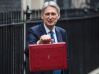 The Chancellor Of The Exchequer Leaves Downing Street To Present The 2017 Budget To Parliament