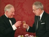 Prince Charles and the the President of Austria