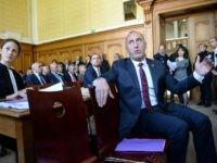 Former Kosovo prime minister Ramush Haradinaj