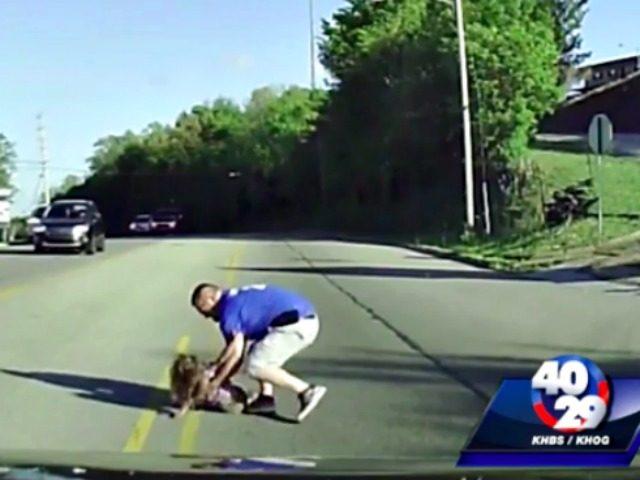 Girl Falls from Bus screenshot
