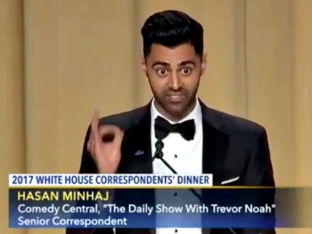 Muslim comedian Minhaj kills it at the White House Correspondents' Dinner