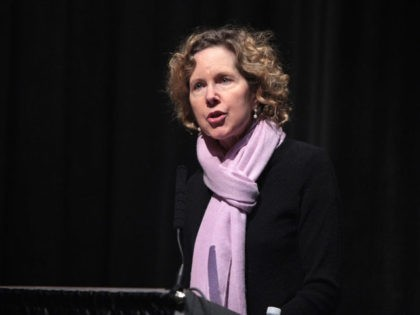 Heather Mac Donald during a speaking engagement