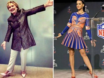 Hillary Clinton, Katy Perry AP