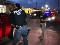 ICE Arrest in Dallas - 4-1-17