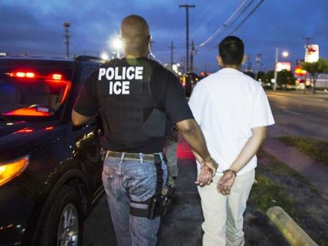 ICE Enforcement Operation - Houston