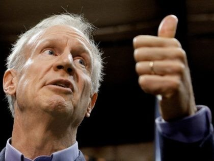 In this Nov. 16, 2016 file photo, Illinois Gov. Bruce Rauner speaks to reporters in Springfield, Ill. The temporary Illinois budget plan agreed to last summer expires with the new year. Republican Gov. Rauner and Democrats who control the General Assembly have hardly talked about how to replace it. Elementary …
