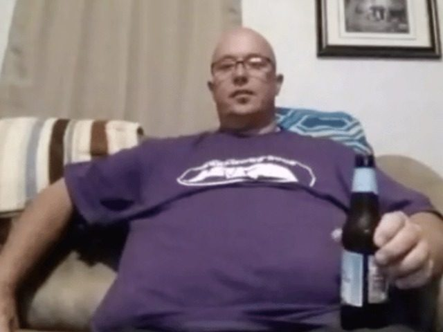 James M. Jeffrey livestreaming on Facebook Live moments before taking his own life.