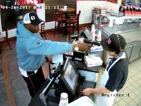 VIDEO: Robbery Suspect Can't Rack Slide, Points Jammed Gun at Cashier