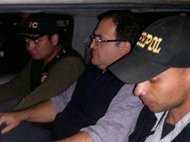 Javier Duarte Arrest