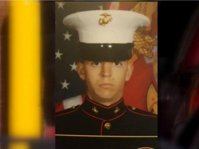 Marine Justin Lampkins, 25, was shot and killed at a McDonald's drive-thru in Bedford, Indiana, early Saturday morning, police say.