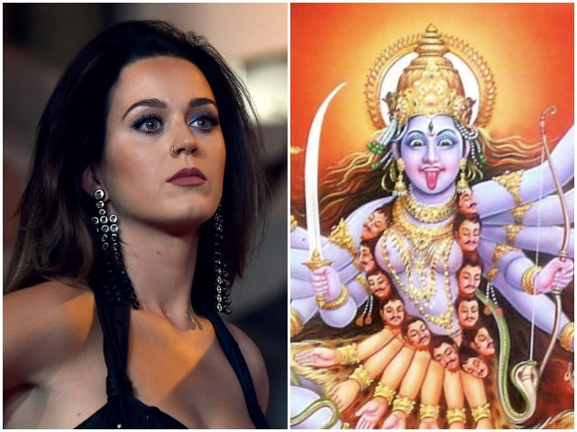 Katy Perry posts picture of Hindu goddess Kali, gets slammed online