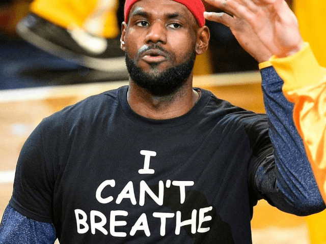 Lebron James wears 'I can't breathe' shirt at Cavaliers game