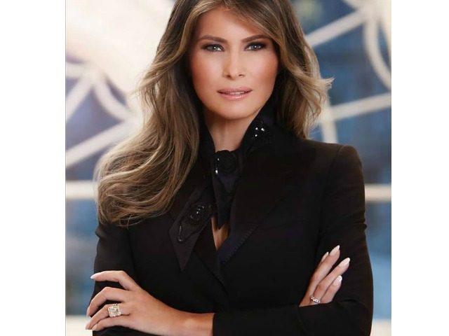 Melania Trump-White House Photo