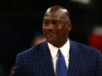 NBA hall of famer and Charlotte Hornets owner Michael Jordan walks off the court during the NBA All-Star Game 2016 at the Air Canada Centre on February 14, 2016 in Toronto, Ontario